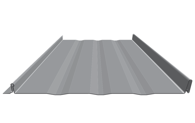 Standing-Seam, Hidden Fastener Metal Roofing